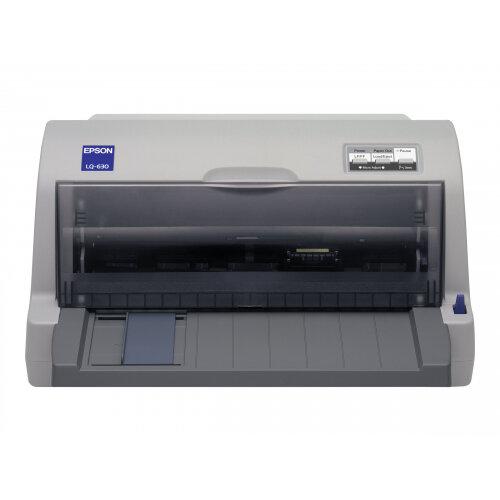 Epson LQ 630 - Printer - monochrome - dot-matrix - JIS B4, 254 mm (width) - 360 x 180 dpi - 24 pin - up to 360 char/sec - parallel, USB 2.0