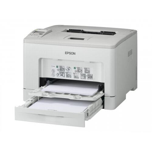Epson WorkForce AL-M300DTN - Printer - monochrome - Duplex - laser - A4/Legal - 1200 dpi - up to 35 ppm - capacity: 550 sheets - USB 2.0, Gigabit LAN