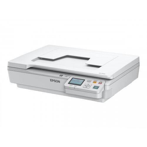 Epson WorkForce DS-5500N - Flatbed scanner - A4 - 1200 dpi x 1200 dpi - USB 2.0, LAN