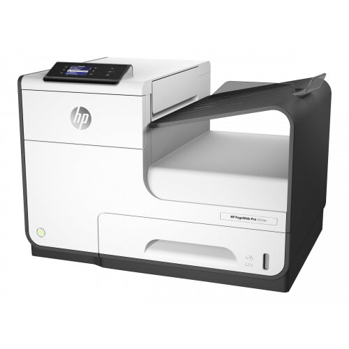 HP PageWide Pro 452dw - Printer - colour - Duplex - page wide array - A4/Legal - 1200 x 1200 dpi - up to 55 ppm (mono) / up to 55 ppm (colour) - capacity: 500 sheets - USB 2.0, LAN, Wi-Fi(n), USB 2.0 host