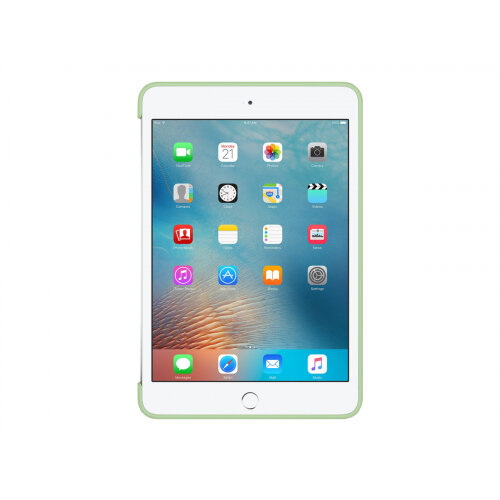 Apple - Back cover for tablet - silicone - mint - for iPad mini 4