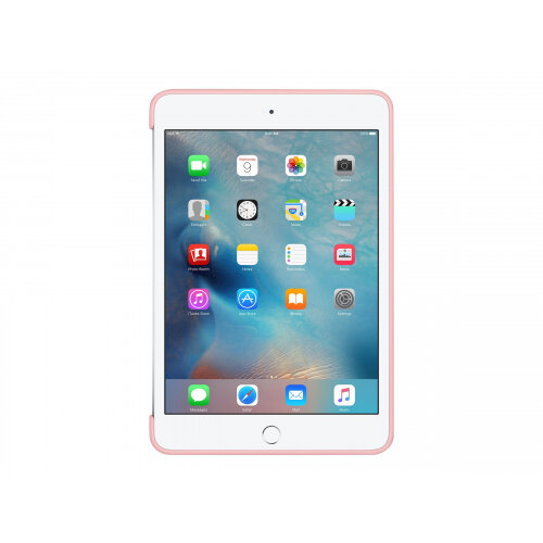Apple - Back cover for tablet - silicone - pink - for iPad mini 4