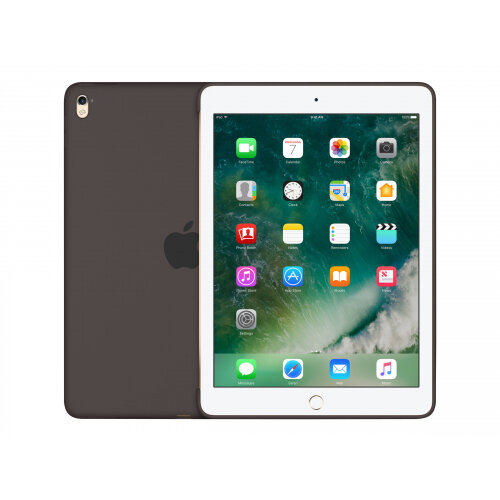Apple - Back cover for tablet - silicone - cocoa - for 9.7-inch iPad Pro