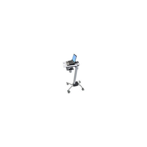 Ergotron Neo-Flex Laptop Cart - Cart for notebook - plastic, aluminium, steel - two-tone grey