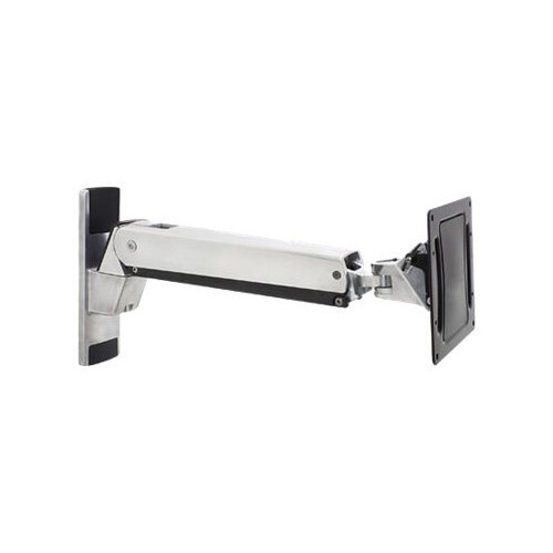 "Ergotron Interactive Arm VHD - Wall mount for LCD display - aluminium - polished aluminium - screen size: 30""-60"" - mounting interface: 200 x 100 mm"