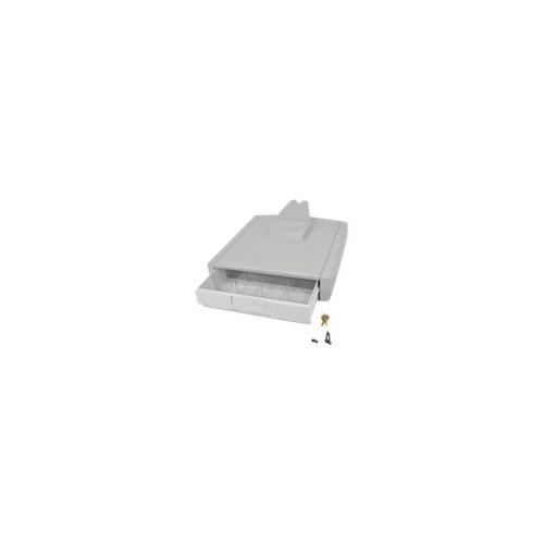 Ergotron StyleView Primary Storage Drawer, Single - Storage box - grey white - cart mountable