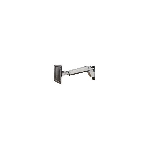 """Ergotron Interactive Arm HD - Wall mount for LCD display - aluminium - polished aluminium - screen size: up to 55"""" - mounting interface: 200 x 100 mm"""
