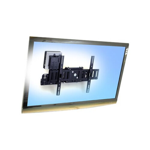 "Ergotron SIM90 Signage Integration Mount - Mounting kit (wall bracket, fasteners, bracket, power block bracket) for LCD display - black - screen size: from 32"" - wall-mountable"