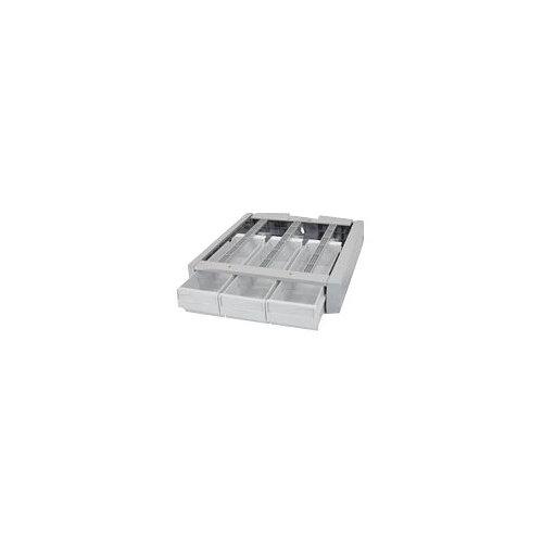 Ergotron StyleView Supplemental Storage Drawer, Triple - Mounting component (drawer module) - grey, white