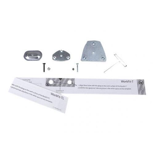 Ergotron LX - Mounting component (grommet mount) - steel - zinc-plated