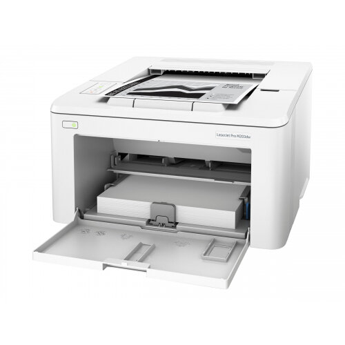 HP LaserJet Pro M203dw - Printer - monochrome - Duplex - laser - A4/Legal - 1200 x 1200 dpi - up to 28 ppm - capacity: 260 sheets - USB 2.0, LAN, Wi-Fi(n)