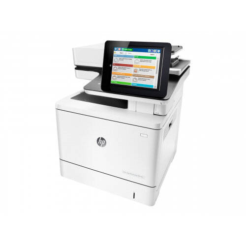 HP LaserJet Enterprise MFP M577f - Multifunction printer - colour - laser - Legal (216 x 356 mm) (original) - A4/Legal (media) - up to 38 ppm (copying) - up to 38 ppm (printing) - 650 sheets - 33.6 Kbps - USB 2.0, Gigabit LAN, USB 2.0 host