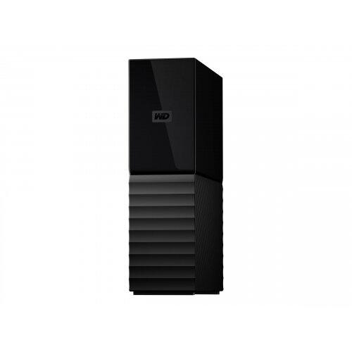 WD My Book WDBBGB0060HBK - Hard drive - encrypted - 6 TB - external (desktop) - USB 3.0 - 256-bit AES - black