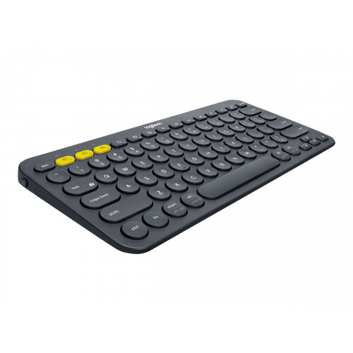 Logitech Multi-Device K380 - Keyboard - Bluetooth - UK English - black