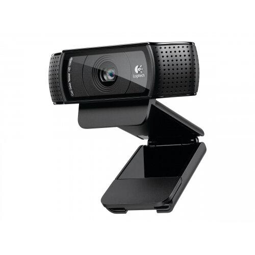 Logitech HD Pro Webcam C920 - Web camera - colour - 1920 x 1080 - audio - USB 2.0 - H.264