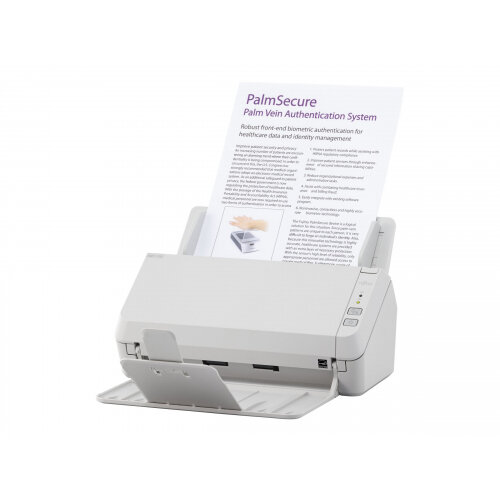 Fujitsu SP-1130 - Document scanner - Duplex - A4 - 600 dpi x 600 dpi - up to 30 ppm (mono) / up to 30 ppm (colour) - ADF (50 sheets) - USB 2.0
