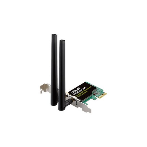 ASUS PCE-AC51 - Network adapter - PCIe low profile - 802.11b, 802.11a, 802.11g, 802.11n, 802.11ac