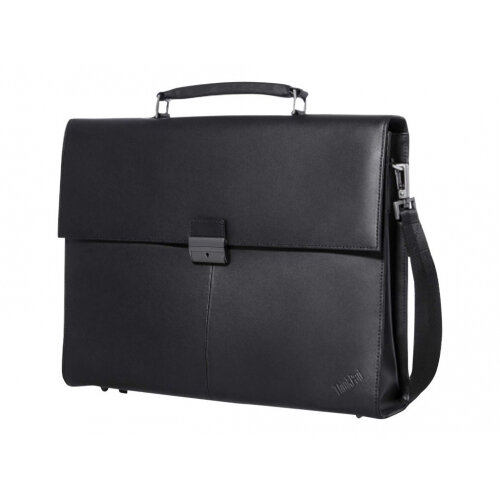 "Lenovo ThinkPad Executive Leather Case - Notebook carrying case - 14.1"" - black - for ThinkPad A275; A475; E470; L470; L480; T470; X270; X280; ThinkPad Yoga 370"