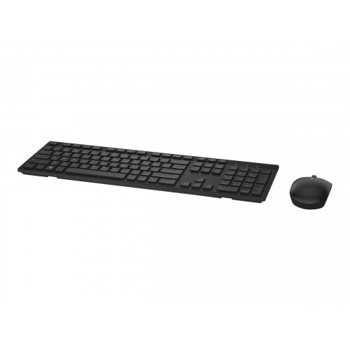 Dell KM636 - Keyboard and mouse set - wireless - UK layout - black - for Inspiron 34XX, 36XX; Latitude 5289 2-In-1, 7390 2-in-1; Vostro 32XX; Dell Wyse 3040