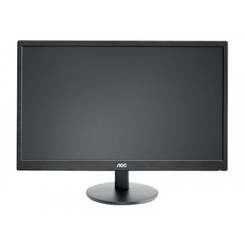"AOC Value M2470SWH - LED Computer Monitor - 23.6"" (23.6"" viewable) - 1920 x 1080 Full HD (1080p) - MVA - 250 cd/m² - 1000:1 - 5 ms - 2xHDMI, VGA - speakers - black"