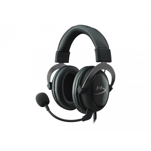 HyperX Cloud II - Headset - full size - wired - gun metal