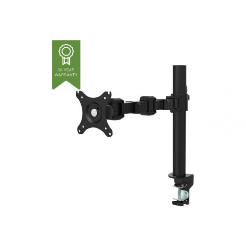 """Vision - Adjustable arm for LCD display - steel - black - screen size: 10""""-34"""" - mounting interface: 100 x 100 mm - desk-mountable"""