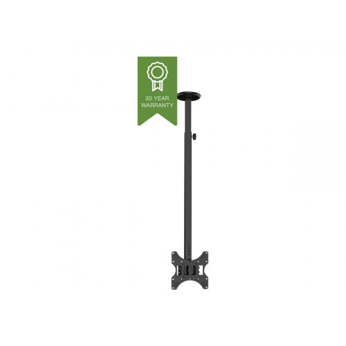 """Vision Techmount VFM-C2X2 - Mounting kit (ceiling mount) for LCD display (telescopic) - steel - black - screen size: 14""""-42"""""""