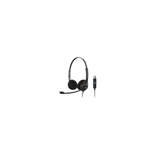 Sennheiser Circle SC 260 USB - Headset - on-ear - wired - black, silver