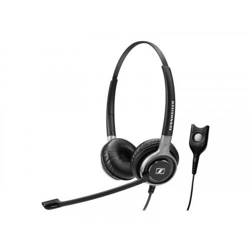 Sennheiser Century SC 660 - Headset - on-ear - wired - black, silver