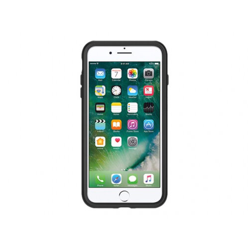 OtterBox Symmetry Series Apple iPhone 7 Plus - Back cover for mobile phone - polycarbonate, synthetic rubber - black - for Apple iPhone 7 Plus