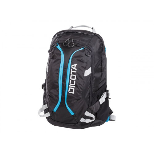 """Dicota Active Laptop Bag 15.6"""" - Notebook carrying backpack - 15.6"""" - black, blue"""