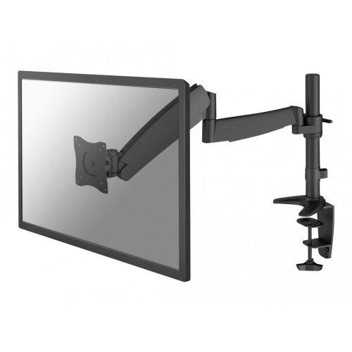 "NewStar Full Motion Desk Mount (clamp &grommet) for 10-30"" Monitor Screen, Height Adjustable (gas spring) - Black - Desk mount for LCD display - black - screen size: 10""-30"""