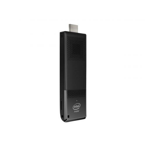 Intel Compute Stick STK1AW32SC - Stick PC - 1 x Atom x5 Z8300 / 1.44 GHz - RAM 2 GB - flash - eMMC 32 GB - HD Graphics - WLAN: Bluetooth 4.0, 802.11a/b/g/n/ac - Win 10 Home 32-bit - monitor: none