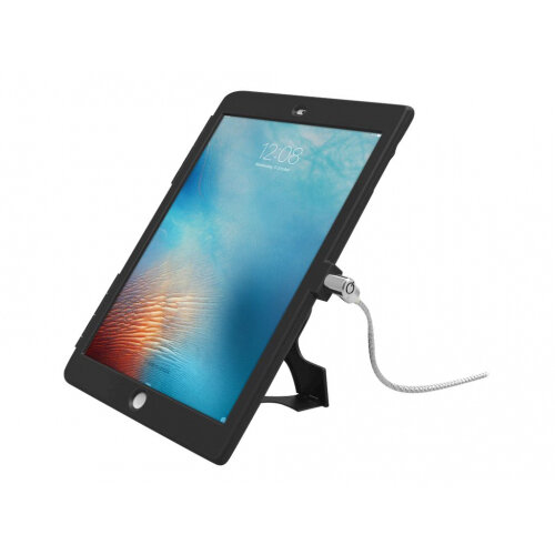 """Compulocks iPad 9.7"""" Security Plastic Case - Keyed Cable Lock - Black - Protective cover for tablet - plastic - black - for Apple iPad Air; iPad Air 2"""