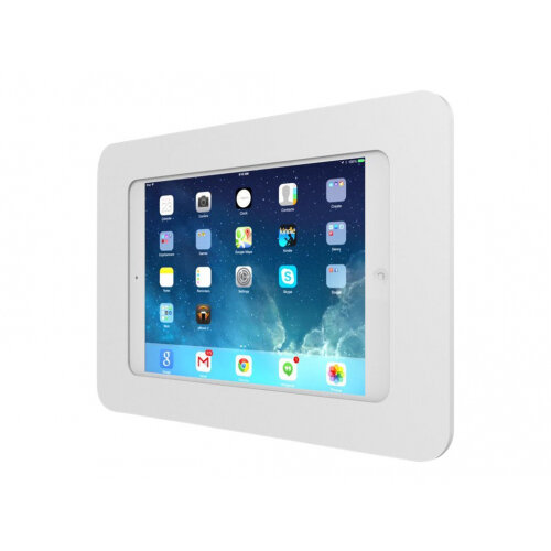"Compulocks Rokku - iPad Mini / Galaxy Tab A 8"" / S2 8"" Wall Mount Enclosure - White - Mounting kit (anti-theft enclosure) for tablet - high-grade aluminium - white - mounting interface: 100 x 100 mm - wall-mountable - for Apple iPad mini; iPad mini 2; 3;"