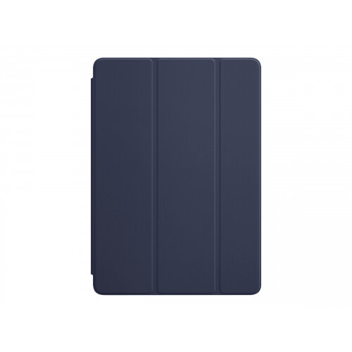 Apple Smart - Flip cover for tablet - polyurethane - midnight blue - for 9.7-inch iPad (5th generation, 6th generation); iPad Air; iPad Air 2