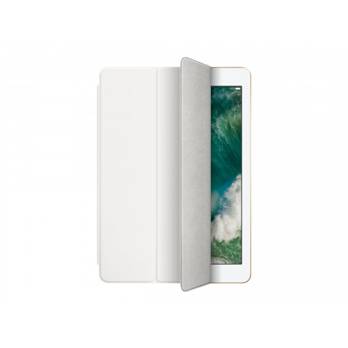 Apple Smart - Flip cover for tablet - polyurethane - white - for 9.7-inch iPad (5th generation, 6th generation); iPad Air 2