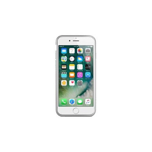 Belkin AIR PROTECT SheerForce - Back cover for mobile phone - thermoplastic polyurethane - silver - for Apple iPhone 7 Plus