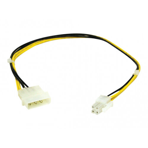 C2G - Power cable - 4 pin ATX12V (F) to 4 PIN internal power (M) - 25 cm