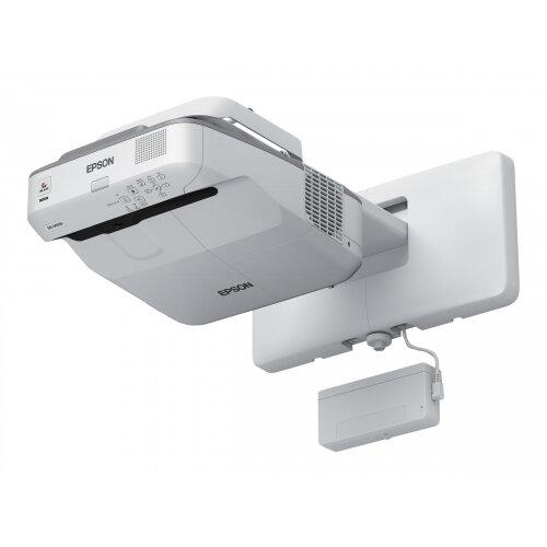 Epson EB-696Ui - 3LCD Multimedia Projector - 3800 lumens (white) - 3800 lumens (colour) - WUXGA (1920 x 1200) - 16:10 - 1080p - LAN