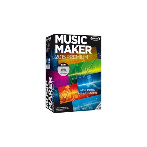 MAGIX Music Maker 2015 Premium - Licence - 1 user - Download - ESD - Win - English