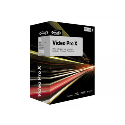 MAGIX Video Pro X - Licence - 1 user - Download - Win - English