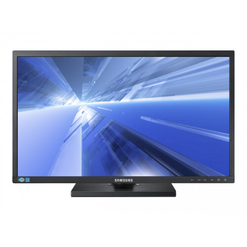 "Samsung SE450 Series S24E450B - LED Computer Monitor - 24"" - 1920 x 1080 Full HD (1080p) - TN - 250 cd/m² - 1000:1 - 5 ms - DVI, VGA - black"