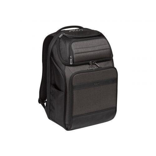 "Targus CitySmart Professional Laptop Backpack - Notebook carrying backpack - 12.5"" - 15.6"" - grey, black"