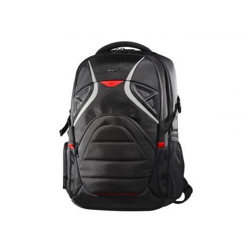 "Targus Strike Gaming Laptop Backpack - Notebook carrying backpack - 17.3"" - black, red"