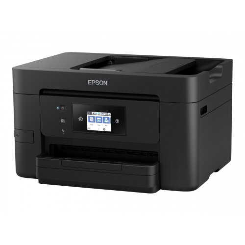 Epson WorkForce Pro WF-4720DWF - Multifunction printer - colour - ink-jet - A4 (210 x 297 mm) (original) - A4/Legal (media) - up to 34 ppm (printing) - 250 sheets - 33.6 Kbps - USB 2.0, Gigabit LAN, Wi-Fi(n), USB host, NFC