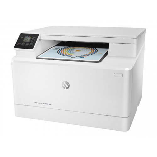HP Color LaserJet Pro MFP M180n - Multifunction printer - colour - laser - 215.9 x 297 mm (original) - A4/Legal (media) - up to 16 ppm (copying) - up to 16 ppm (printing) - 150 sheets - USB 2.0, LAN