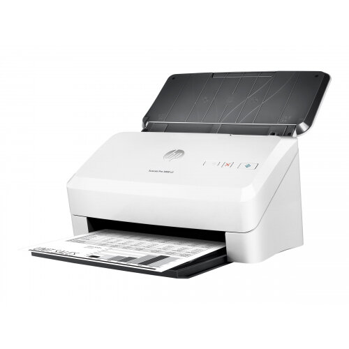HP Scanjet Pro 3000 s3 Sheet-feed - Document scanner - Duplex - 216 x 3100 mm - 600 dpi x 600 dpi - up to 35 ppm (mono) - ADF (50 sheets) - up to 3500 scans per day - USB 3.0, USB 2.0