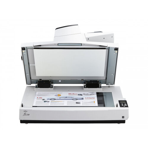 Fujitsu fi-7700S - Document scanner - ARCH B - 600 dpi x 600 dpi - up to 75 ppm (mono) / up to 75 ppm (colour) - ADF (300 sheets) - USB 3.1 Gen 1