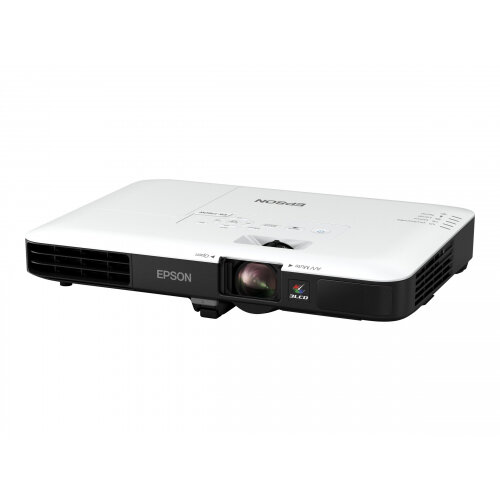 Epson EB-1780W - LCD Multimedia Projector - portable - 3000 lumens (white) - 3000 lumens (colour) - WXGA (1280 x 800) - 16:10 - 720p - 802.11n wireless / NFC / Miracast